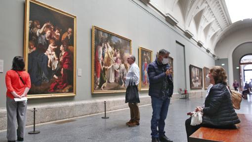 Image of the Prado Museum in Madrid