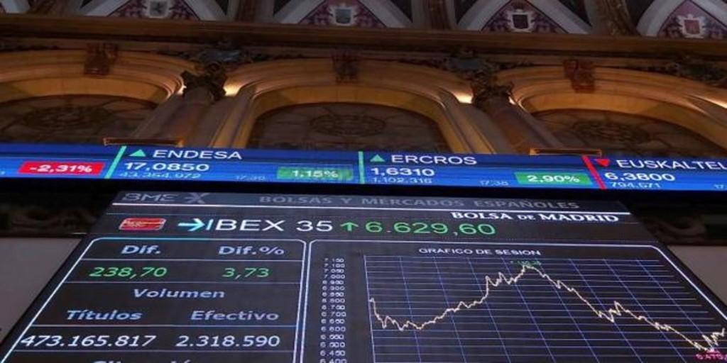 El Ibex 35 se desploma por el temor a la recisión y cae al nivel del año del rescate bancario