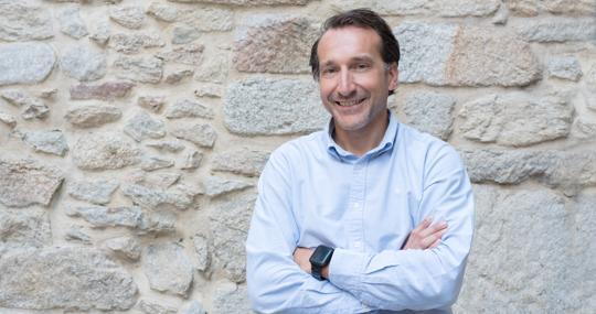 David Conde, Co-founder of Coinscrap