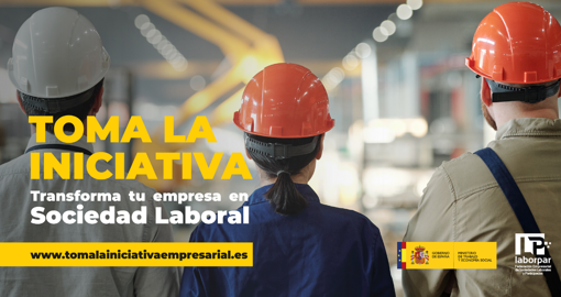 """LABORPAR, in collaboration with the Ministry of Labor and Social Economy, has launched the """"Take the initiative"""" campaign"""