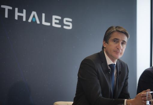 Patrice Caine, President and CEO of Thales