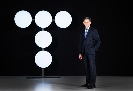 The president of Telefónica, José María Álvarez-Pallete