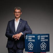 Carles Navarro, president of Feique and Expoquimia