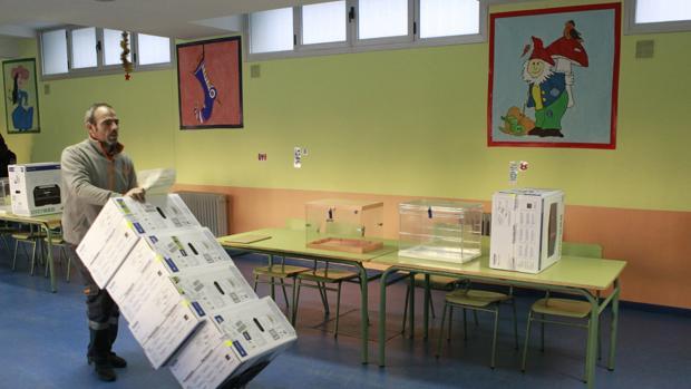 Imagen del colegio electoral Ortega y Gasset de Madrid
