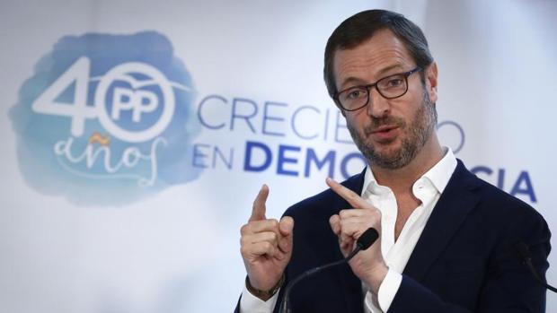El vicesecretario general de Política Social y Sectorial del PP, Javier Maroto