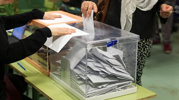 Resultados Elecciones Generales 2019 en Zaragoza capital