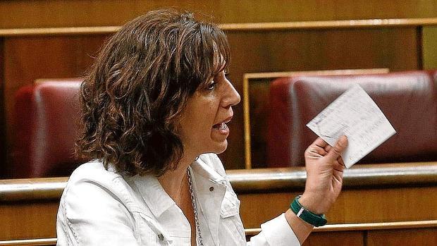 Irene Lozano como diputada de UPyD