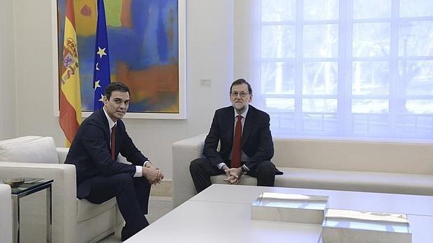 Pedro Sánchez y Mariano Rajoy, en una imagen de archivo