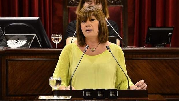 Francina Armengol, presidenta de las Islas Baleares