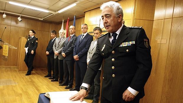 Manuel Vázquez López, nuevo jefe superior de la Policía en Galicia