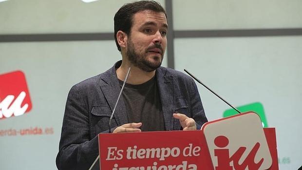 Alberto Garzón, líder de IU
