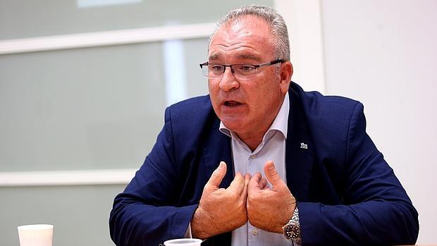 Alfonso Sánchez, presidente de la Asociación de Víctimas del Terrorismo