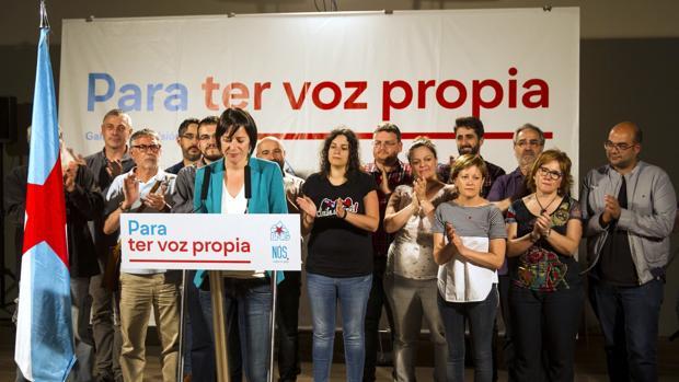 La portavoz nacional, Ana Pontón, tras analizar los resultados con su Ejecutiva