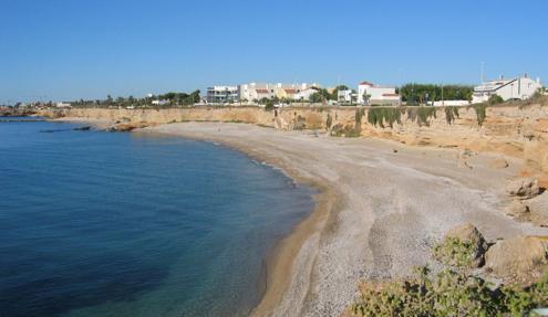 Imagen de la playa Les Deveses en Castellón