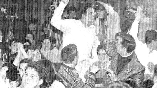 Uno de los estudiantes que protestaron contra González en 1993 en la Universidad Autónoma