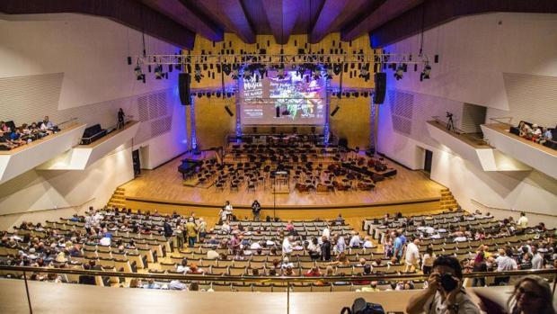 Instalaciones del auditorio ADDA de Alicante