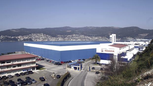 La sede de Nueva Pescanova, en Redondela (Pontevedra