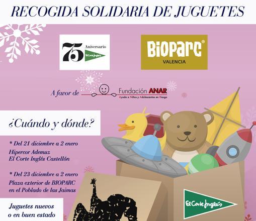 Inglés Corte Una El NavidadBioparc Valencia Recogida Organizan Y thorQBsxdC