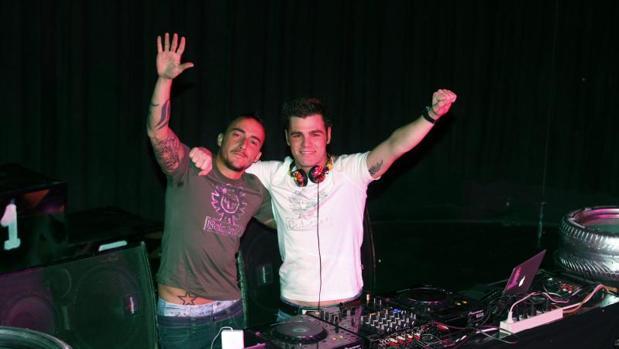 Dj Nano y Fonsi Nieto, en una imagen de archivo en Ifema