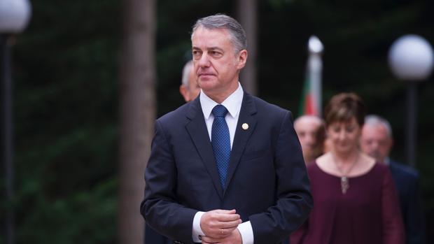 El lendakari, Íñigo Urkullu