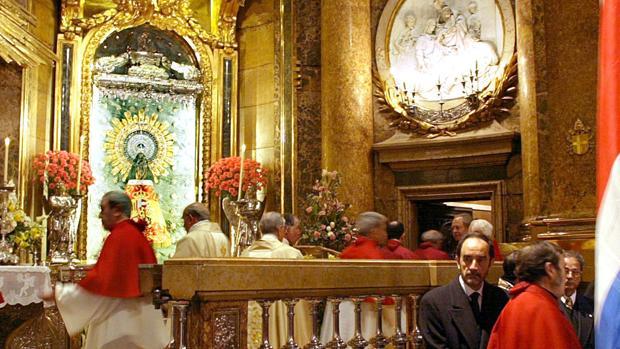 Imagen de la zaragozana Basílica del Pilar