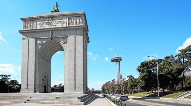 El Arco de la Victoria de Madrid podría pasar a llamarse «Arco de la Memoria»