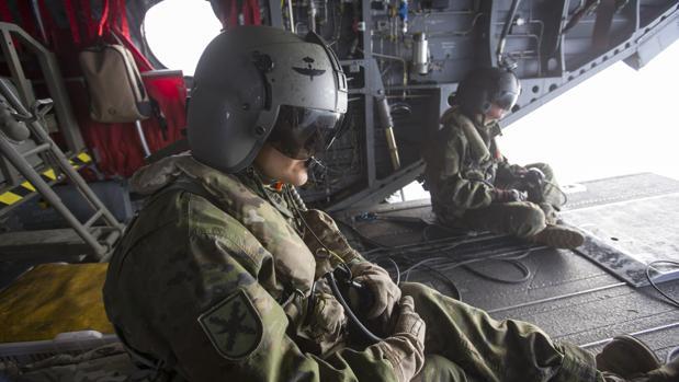 Maniobras conjuntas de las Fuerzas Armadas francesas y españolas