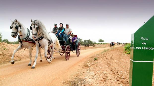 Uno de los caminos de la Ruta de Don Quijote