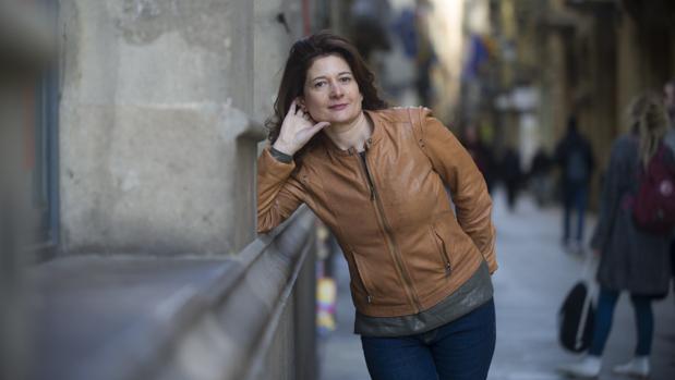 Victoria González Torralba, fotografiada en Barcelona