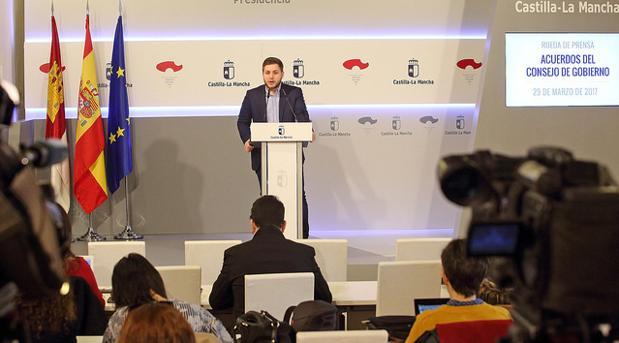 Nacho Hernando da cuenta de los asuntos aprobados en la reunión semanal del gabinete del Gobierno