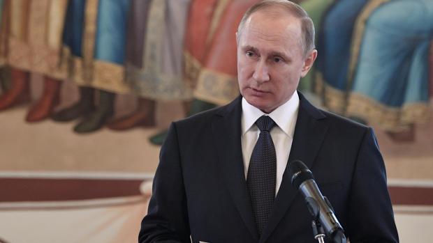 Vladímir Putin, presidente ruso, en una imagen de archivo
