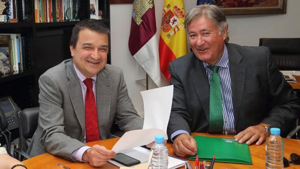 Francisco Martínez Arroyo y Luis Alberto García, en Toledo este martes