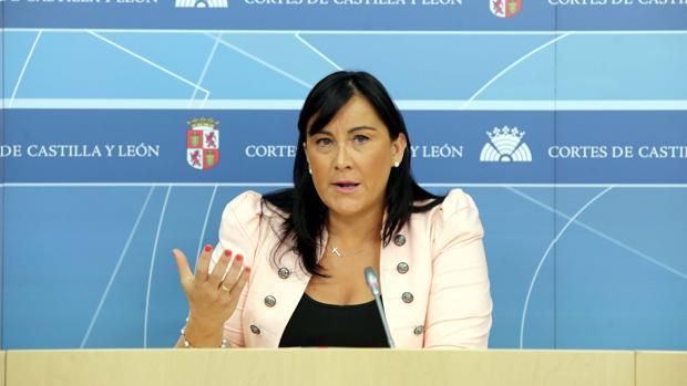La procuradora del PSOE Ana Sánchez