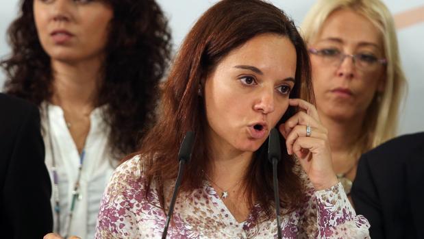 Sara Hernández, secretaria general del PSOE-M