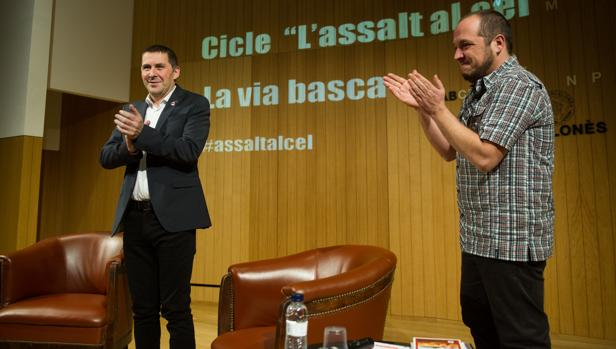 Conferencia de Arnaldo Otegi en el Ateneo de Barcelona