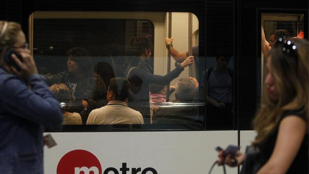 Imagen del metro de Valencia