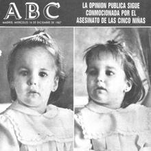 Portada de ABC con los rostros de dos de las niñas asesinadas