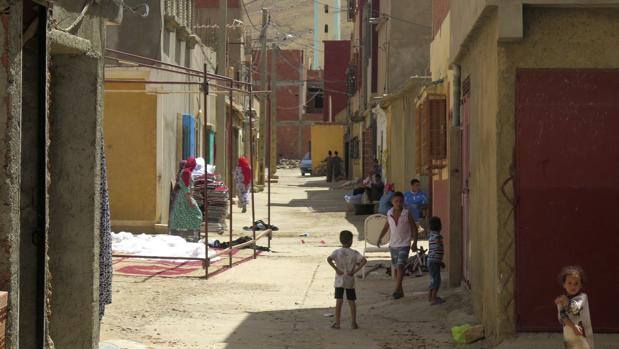 Barrio de Tahayauit en Mirt (Marruecos), el pueblo natal de los hermanos Hychami