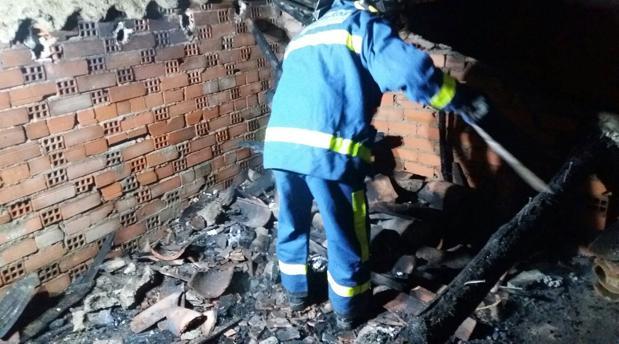 Incendio en una vivienda en Sotillo de la Adrada, en Ávila