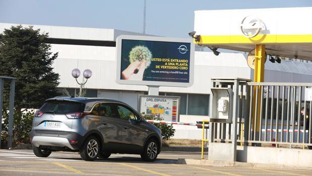 La factoría de Opel en Figueruelas