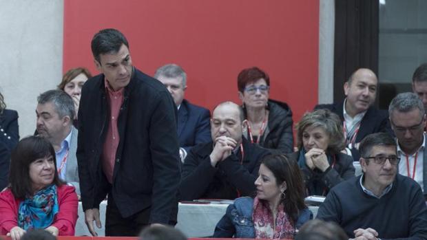 Pedro Sánchez, este sábado durante la celebración del Comité Federal del PSOE