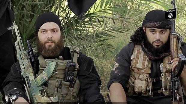 Yihadistas extranjeros de Daesh en un vídeo propagandístico