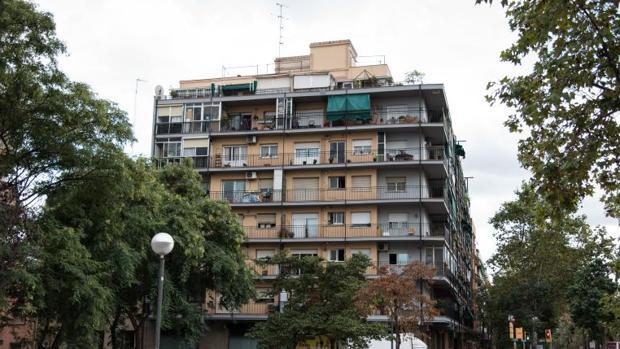 El barrio de Nou Barris de Barcelona, en una foto de archivo