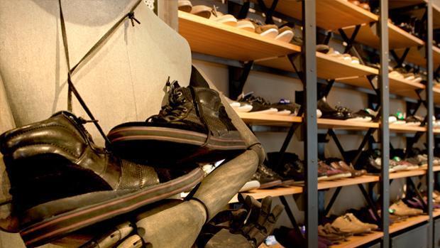 Imagen de unos zapatos fabricados por Tempe