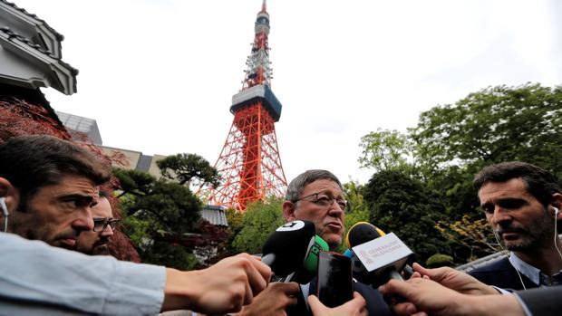 Ximo Puig, en su visita a Japón esta semana