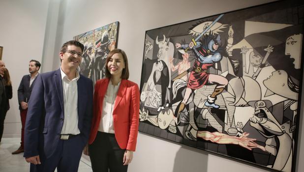 Jorge Rodríguez i Diana Morant