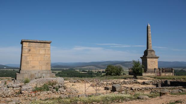 Yacimiento de Numancia en Garray (Soria)