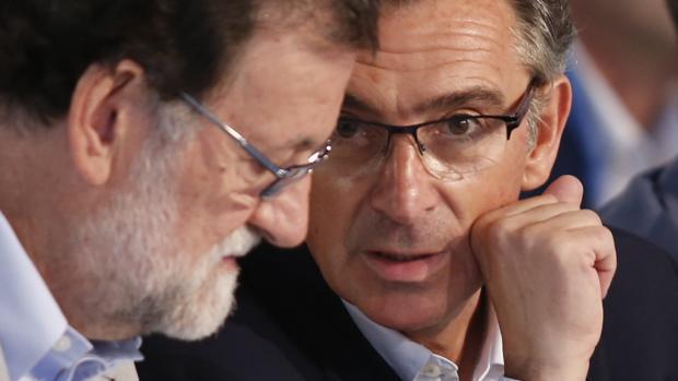 Beamonte y Rajoy, en una imagen de archivo