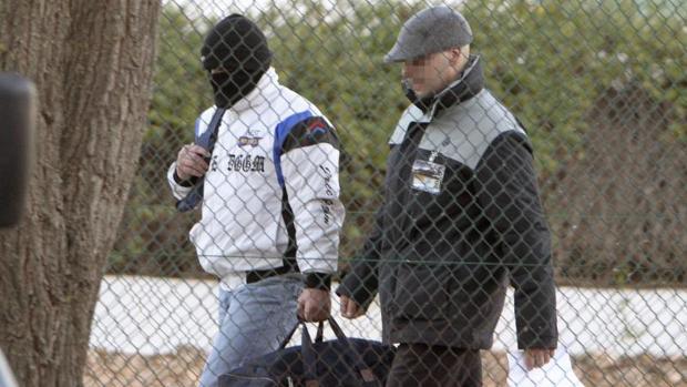 Miguel Ricart, encarcelado por el crimen de Alcàsser, a su salida de prisión en 2013