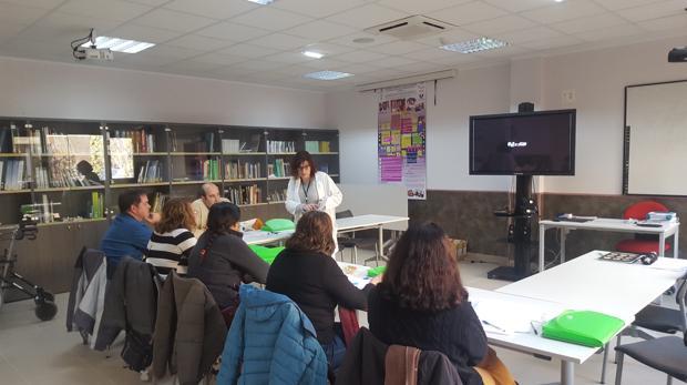 Grupo de alumnos de una formación realizada por la asociación Alzheimer León